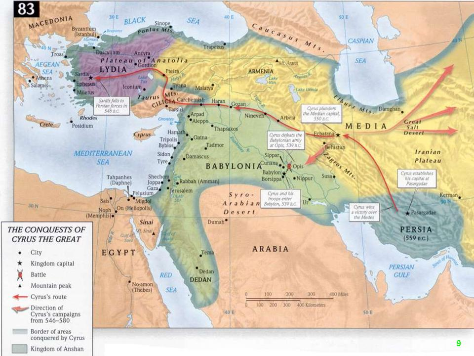 Image result for cyrus the great map